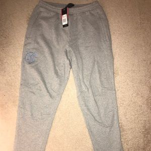 New Adidas New York City FC grey sweatpants